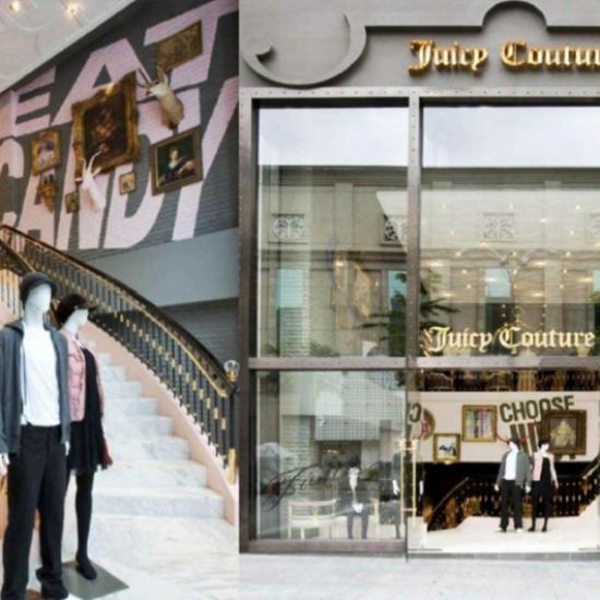 Juicy Couture Kuala Lumpur store opening