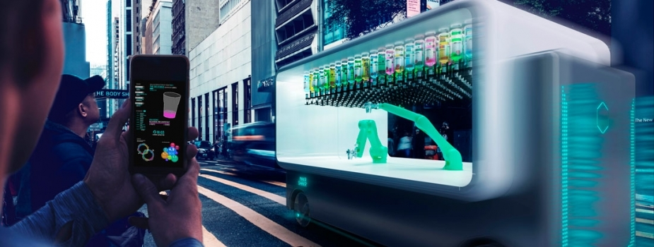 Concept For First Driverless Robotic Cafe: GUIDO