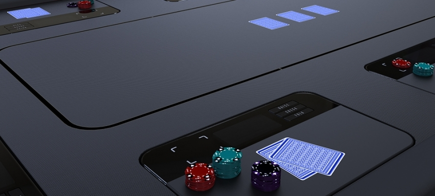 smart poker table