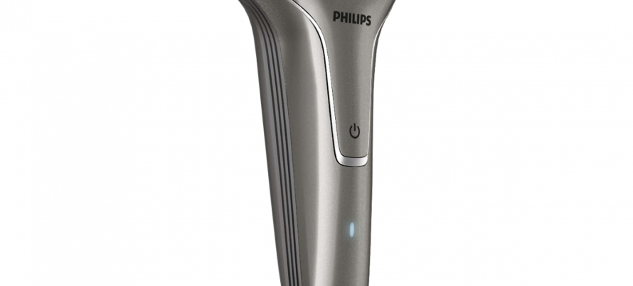 2-head electric shaver
